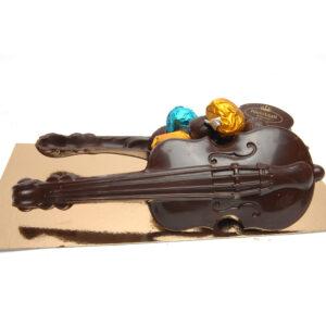 Chocolade viool gevuld met pralines